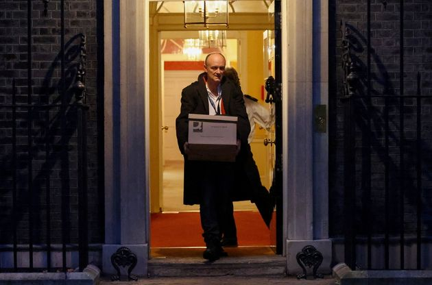 Dominic Cummings Courts One Last Moment In The Spotlight As He Leaves Downing Street