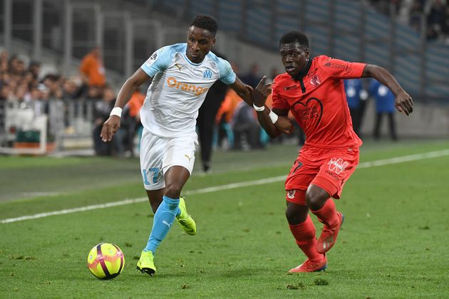 Lors de Marseille-Nice en Ligue 1, le 10 mars
