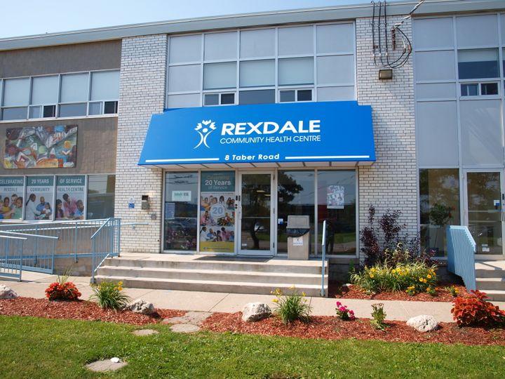 Rexdale Community Health Centre main office in Etobicoke, Ont.