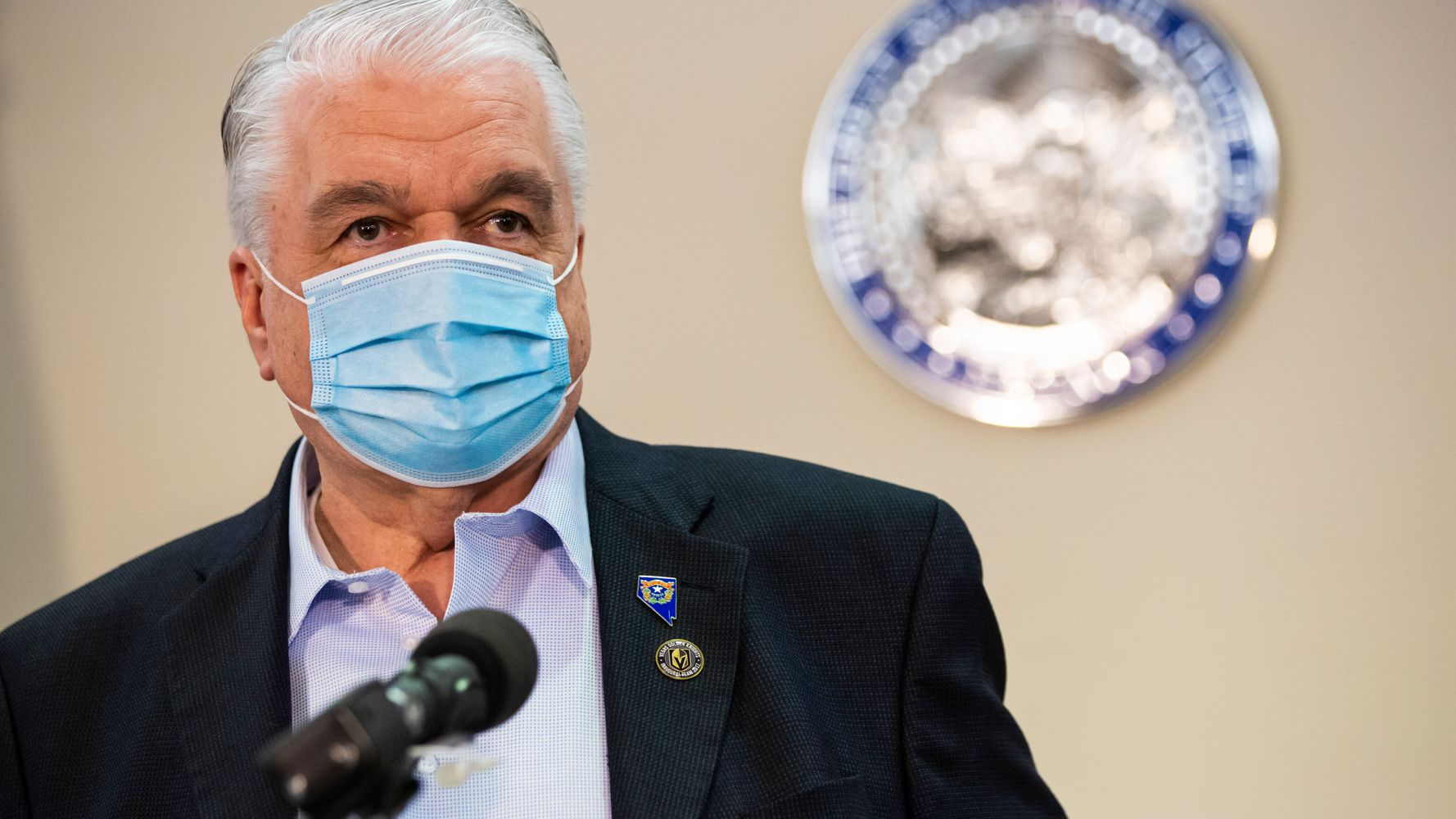 Nevada Governor Steve Sisolak Tests Positive For COVID-19