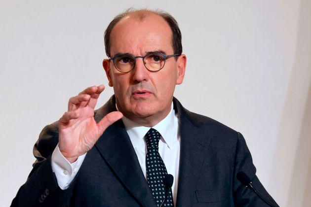 Jean Castex, ici photographié lors de sa conférence de presse du 12 novembre, dit plancher...