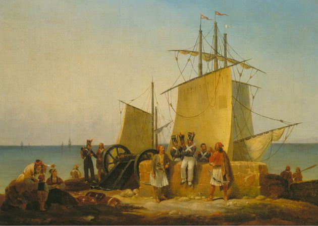 Η Γαλλική αποστολή...