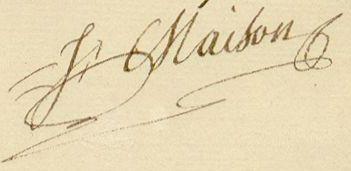 Η υπογραφή του Στρατάρχης...
