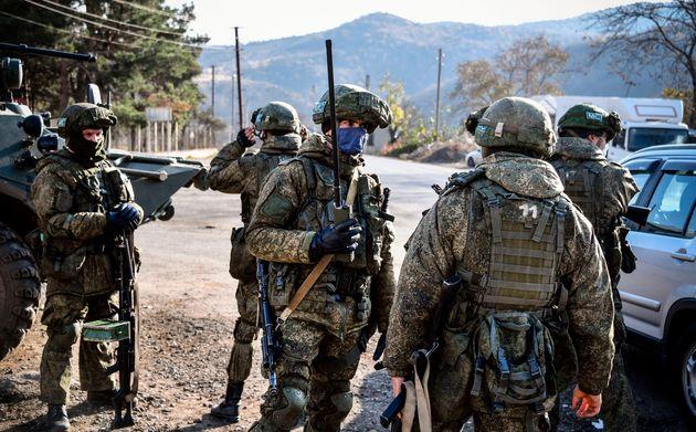 Le conflit au Haut-Karabakh a fait 2300 victimes dans l'armée arménienne (Photo de soldats...