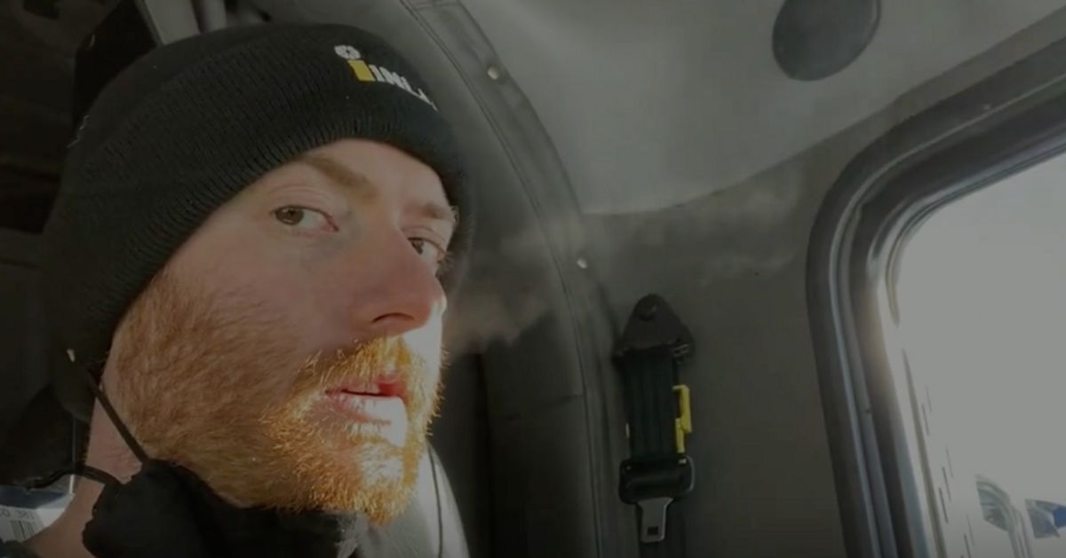 Saskatoon Man Uses The Cold To Show How Effective Face Masks Can Be