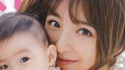 篠田麻里子さん、長女との