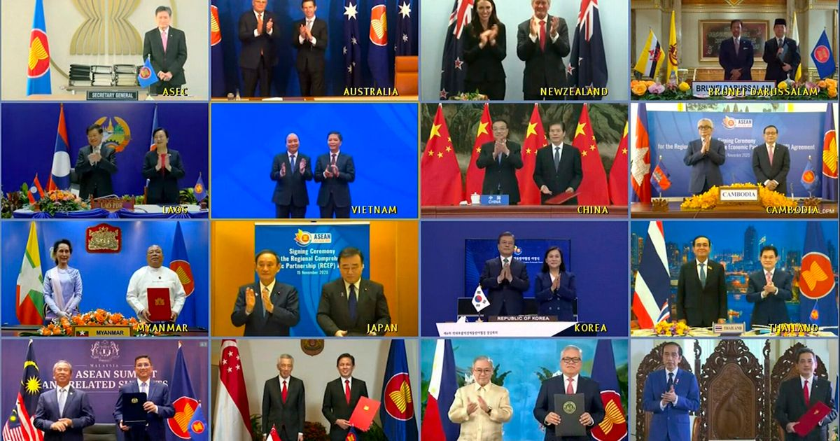 RCEP: 15 χώρες της Ασίας σχηματίζουν τη μεγαλύτερη ένωση ελεύθερου εμπορίου στον κόσμο