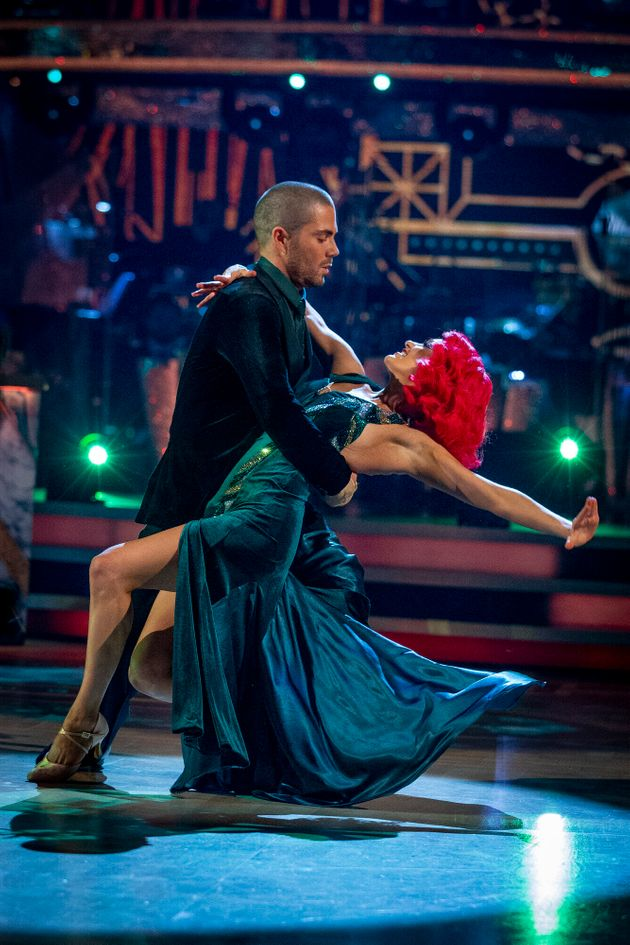 Max George Casually Drops The F-Bomb Live On Strictly Come Dancing