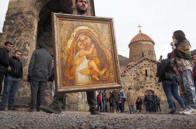 Αρμένιοι από το Αρτσάχ...