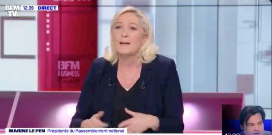 Si elle était présidente de la République, Marine Le Pen laisserait les Français...