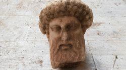 Τον θεό Ερμή εικονίζει η κεφαλή αγάλματος που βρέθηκε στην