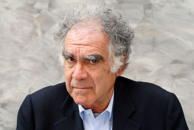 LYON;FRANCE - MAY 31: Italian historian Carlo Ginzburg poses while attending a book fair in Lyon, France...