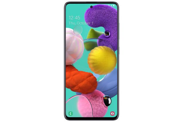 Straight Talk Samsung Galaxy A51, 128GB Prism Crush Black – Prepaid Smartphone