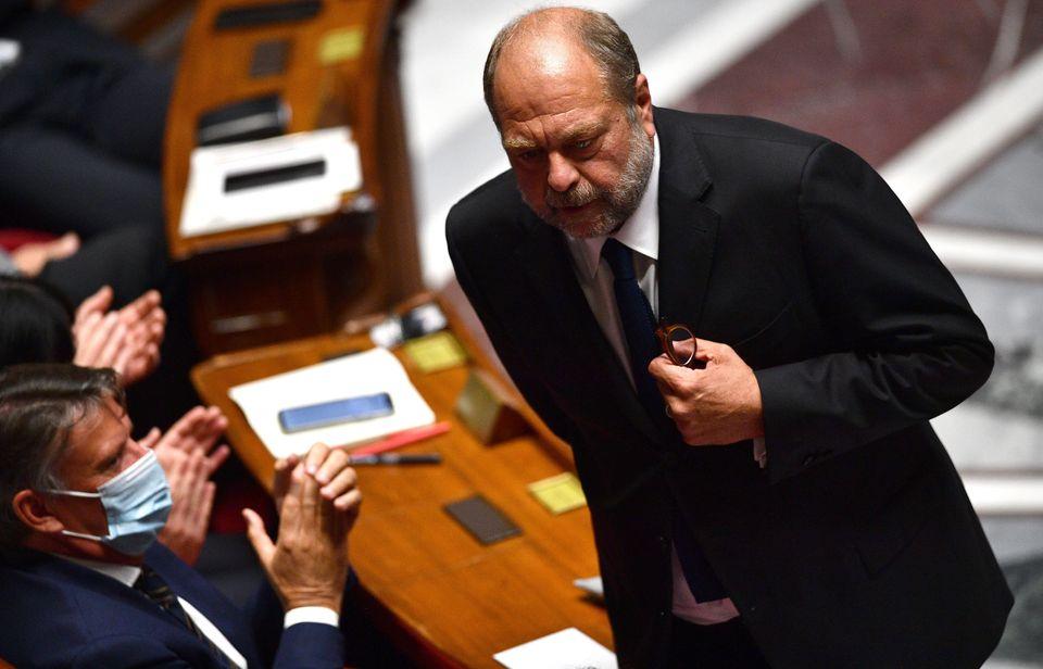 """Éric Dupond-Moretti: """"l'État de droit, c'est l'arme de la République"""" face au terrorisme (photo d'illustration prise le 8 juillet 2020)"""