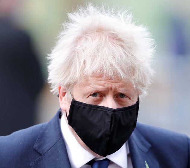 Boris Johnson le 11 novembre