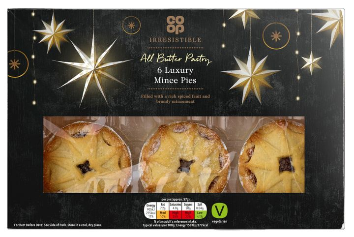 Co-Op Luxury Mince Pies