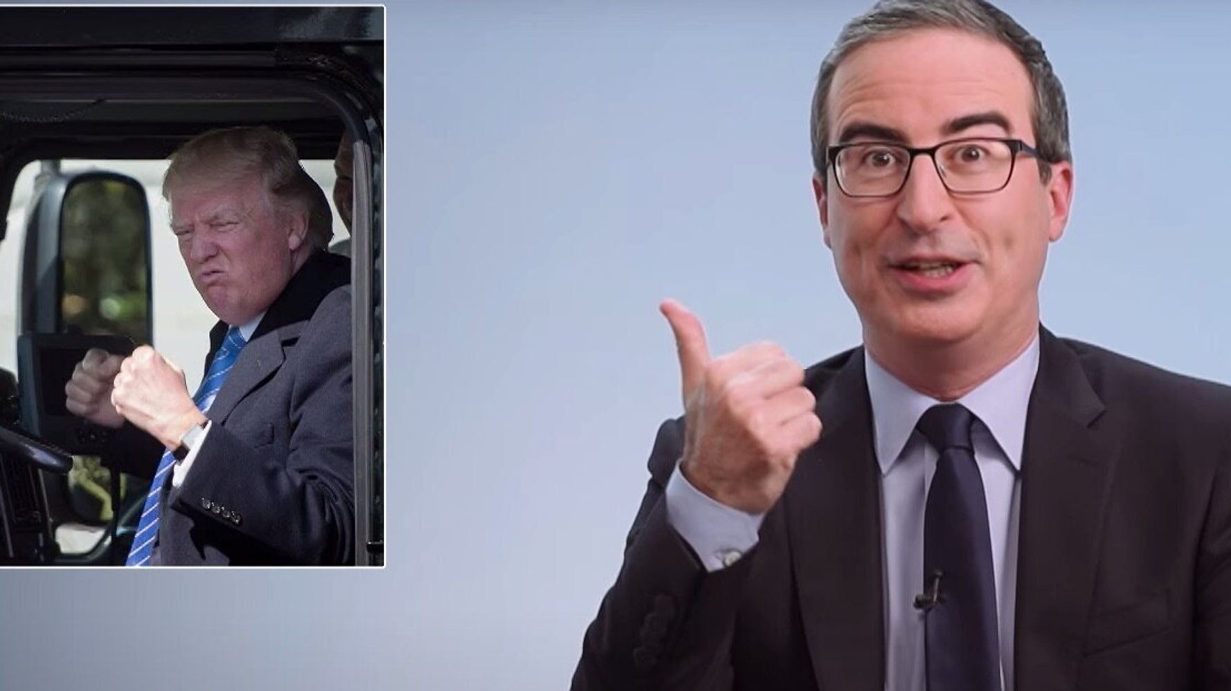 John Oliver Gives 'This A**hole' Trump The Post-Election Treatment He Deserves