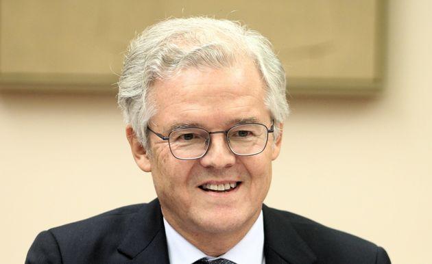 El presidente de la CNMV, Sebastián Albella, comparece ante una comisión del