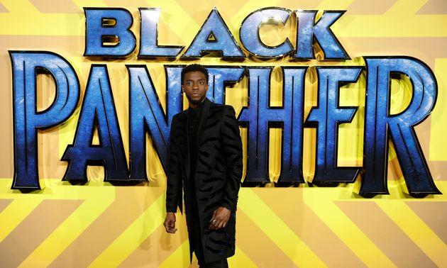 L'acteur Chadwick Boseman lors de l'avant-première de