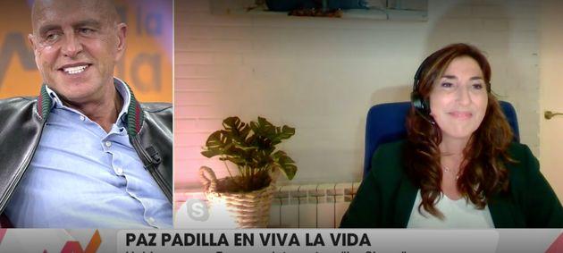 Paz Padilla y Kiko Matamoros en 'Viva la