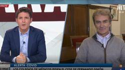 La tajante respuesta de Fernando Simón a los médicos que piden su cese: manda un mensaje hasta a