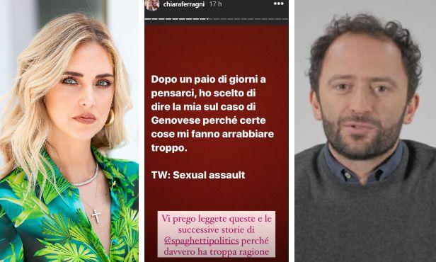 Chiara Ferragni; le storie Instagram condivise dall'influencer; Alberto