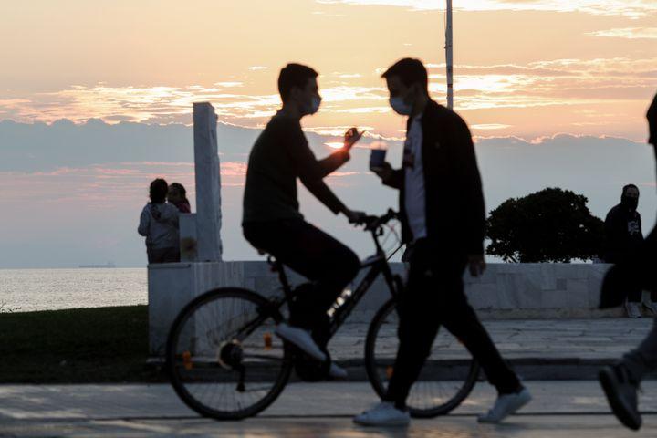 Ποδήλατο στο ηλιοβασίλεμα