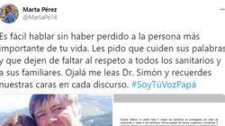La hija de un sanitario fallecido manda una dura carta a Fernando Simón: