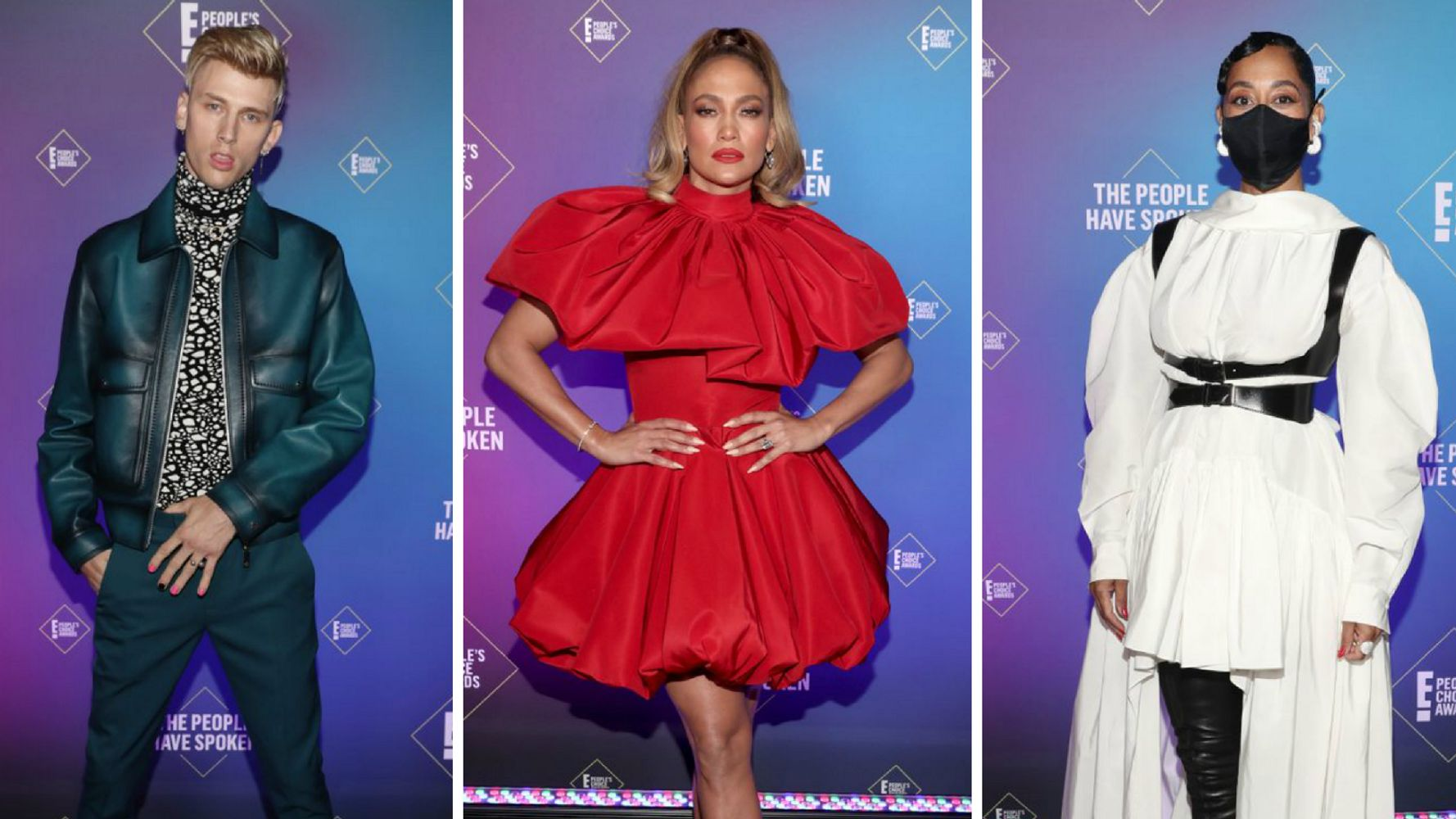 Here Are The Best Looks From The 2020 People's Choice Awards