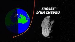 Un astéroïde inconnu a frôlé (vraiment frôlé) la