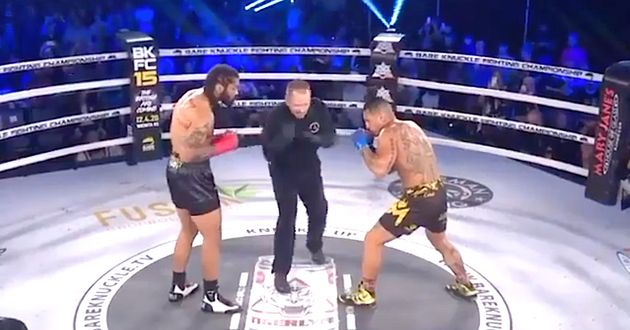 Got 3 Seconds? Watch The Fastest Knockout Ever In Bare Knuckle Fighting Championship