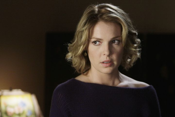 """Katherine Heigl exited """"Grey's Anatomy"""" six seasons in, amid speculation that she clashed with series creator Shonda Rhimes."""