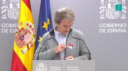 Fernando Simón manda un mensaje muy claro al lucir este símbolo en su