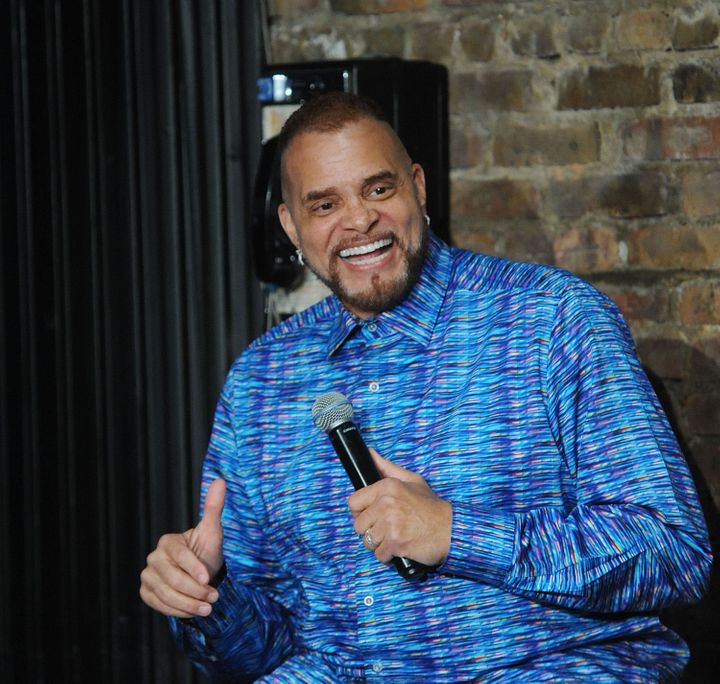Sinbad performs at The Stress Factory Comedy Club on June 15, 2018 in New Brunswick, New Jersey.