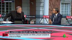 Ferreras desvela lo que le dijo Zapatero en una conversación privada en marzo: se ha cumplido punto por