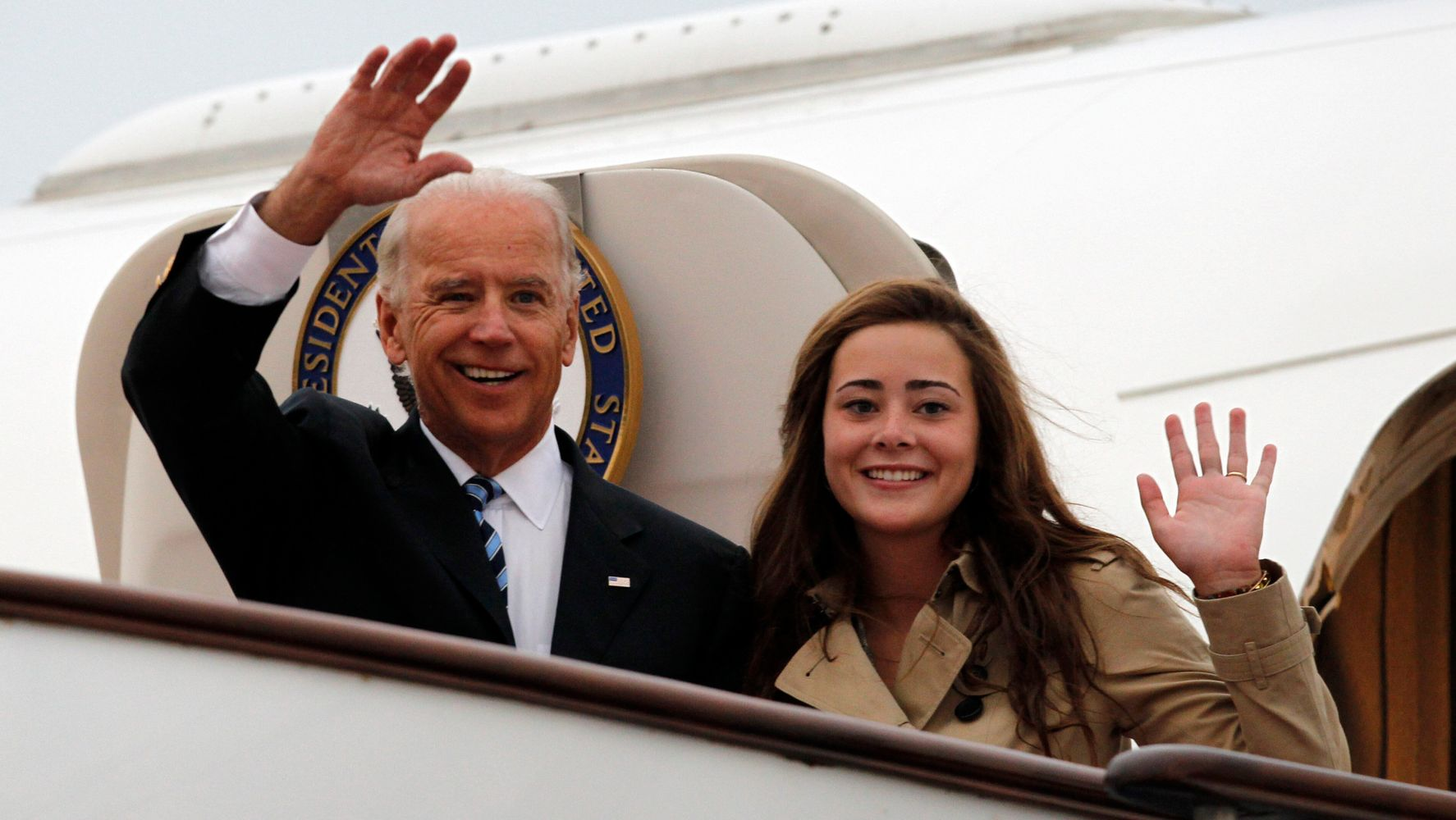 Naomi Biden Teases 'Pop' Joe After He Says He's Limiting Thanksgiving Guests