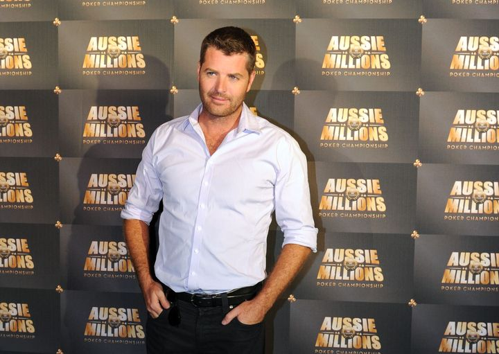 Celebrity chef Pete Evans, pictured in January 2011, shared a social media post featuring a sonnenrad or Black Sun, a prominent white nationalist symbol.