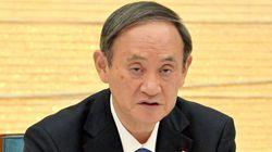 菅義偉首相「事業者と利用者が気をつけて」