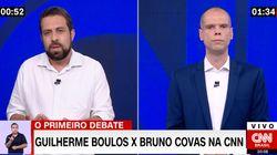 Apesar de troca de farpas, Boulos e Covas focam 1º debate em propostas para São