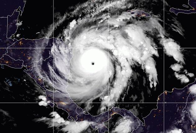 Ο τυφώνας Γιώτα κατέφθασε στην κεντρική