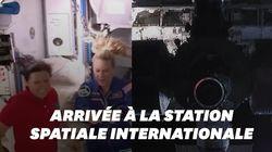 La capsule Dragon de SpaceX a réussi son arrimage à la Station spatiale