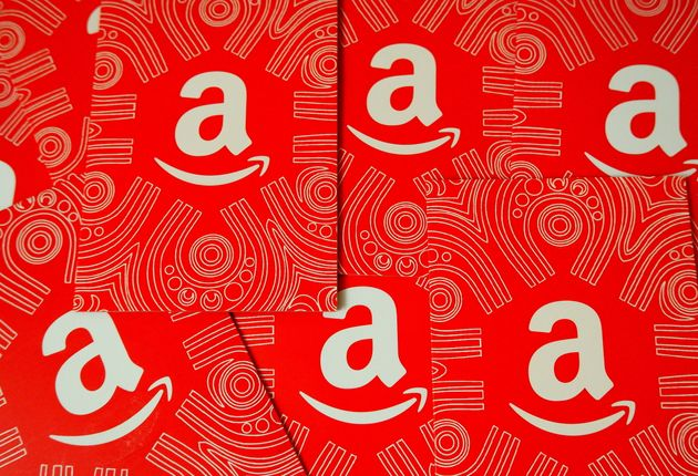 Le logo d'Amazon (Photo d'illustration Avishek Das/SOPA Images/LightRocket via Getty