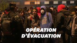 Un campement de 2000 migrants évacué à Saint-Denis, près du Stade de