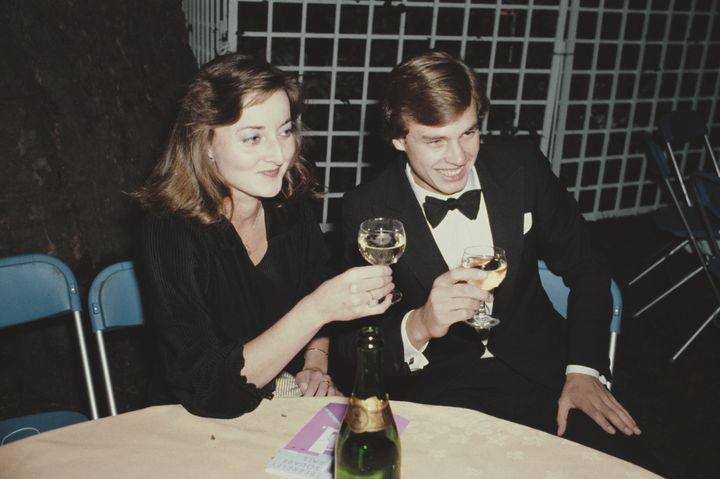 Amanda Knatchbull, en una imagen de 1980.