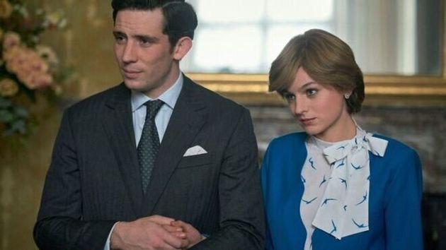 Imagen del príncipe Carlos y Lady Di en la cuarta temporada de 'The