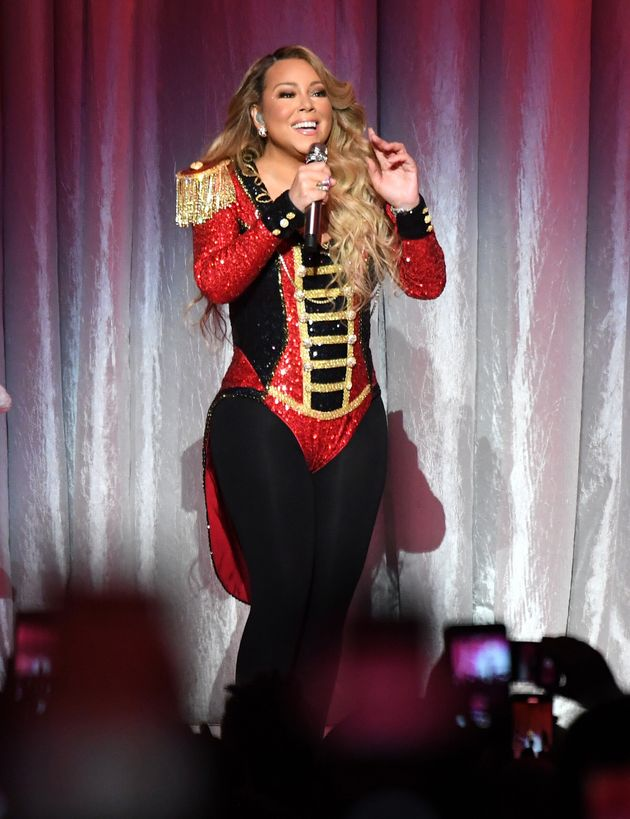 The queen of all things festive, Mariah Carey