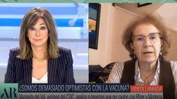 La viróloga Margarita del Val deja en 'shock' a Ana Rosa Quintana: le dice lo que ninguno queríamos