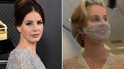 Lana Del Rey Finally Sets The Record Straight Over 'Mesh' Face Mask After Facing