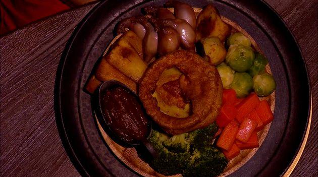 A 'nuts roast'