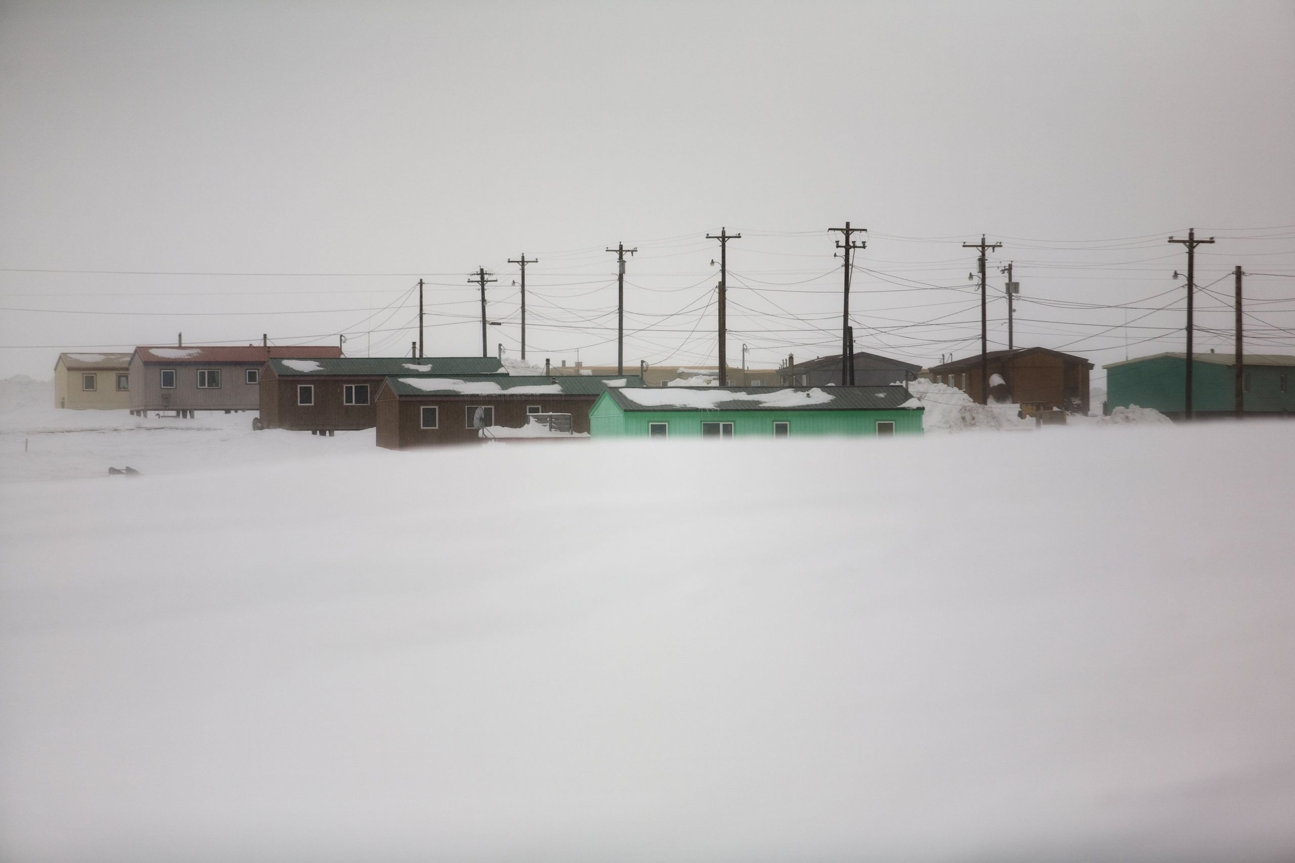 The town of Kaktovik, which sits 100 miles from its closest neighbor, shut down completely when the COVID-19 pandemic started